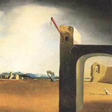«Morphological Echo», de Dalí