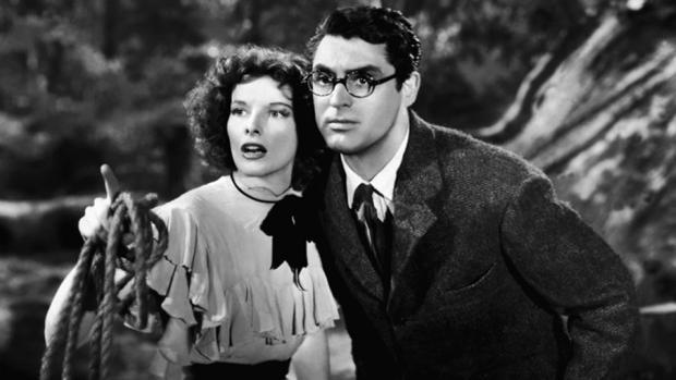 Katharine Hepburn y Cary Grant obligaban a menudo a parar el rodaje con sus ataques de risa incontrolable