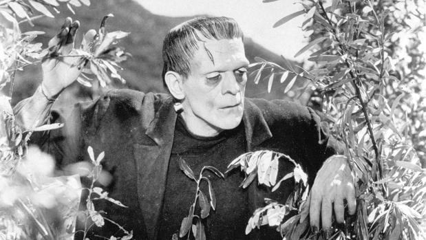Boris Karloff, intrérprete de Frankenstein en la pelicula de 1931