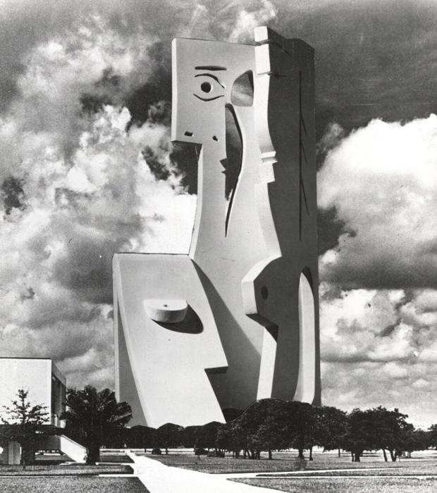 La imagen decscubierta de «Busto de Mujer»