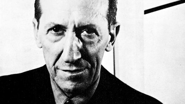 El artista Piet Mondrian