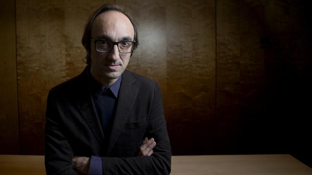 El escritor Agustín Fernández Mallo, fotografiado poco antes de la entrevista