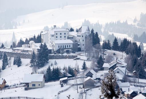 El «Hotel Drácula» en Rumania