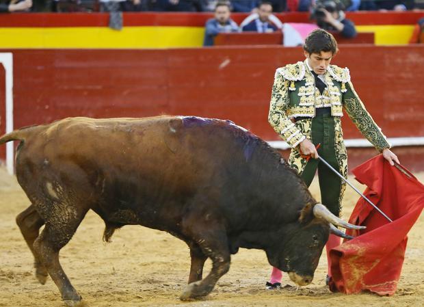 José Garrido destacó con la mano izquierda