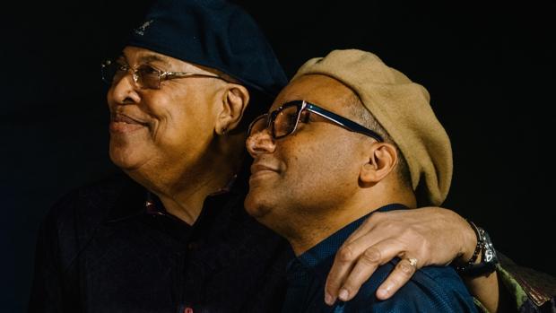 Gonzalo Rubalcaba (derecha) conoció a Chucho Valdés cuando tenía 11 años, durante un concierto de Irakere. Ahora, 46 años después, cruzan sus caminos para actuar juntos