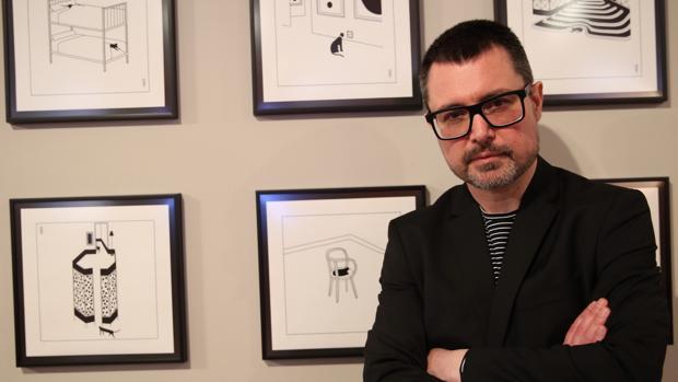 El ilustrador Pablo Amargo