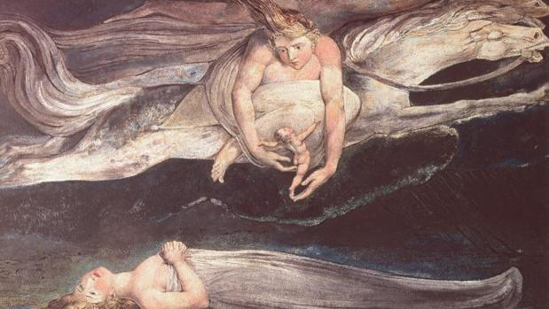 Ilustración para la «Divina Comedia», por William Blake