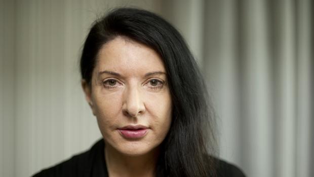 La artista Marina Abramovic