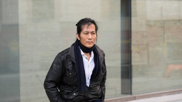 Byung-Chul Han retratado en Barcelona