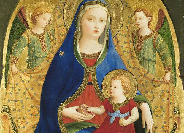 «La virgen de la Granada» de Fra Angelico, una de las compras cuestionadas del Prado