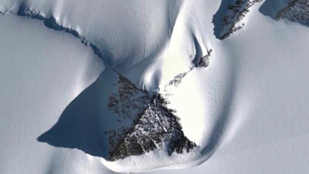 Imágenes de Google Earth de la Antártida
