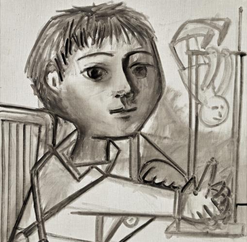 «Enfant jouant, Claude» (1952)