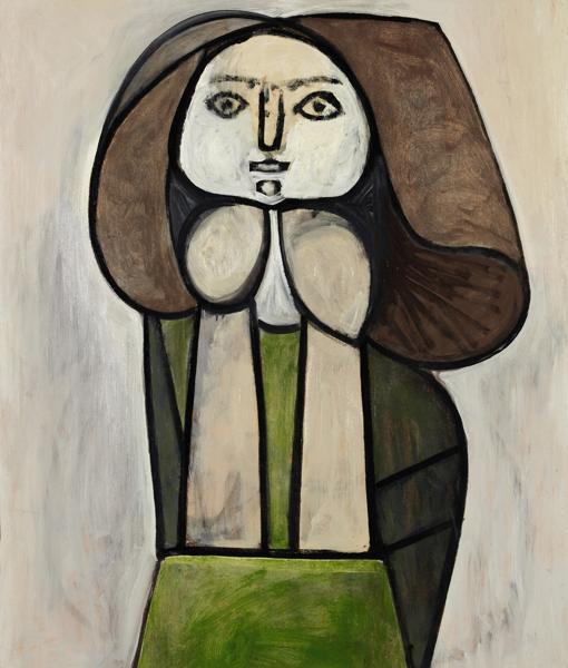 «Femme à la robe verte (Femme Fleur)», 1946