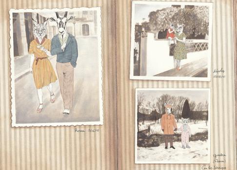 Ilustraciones de «La colección del abuelo»