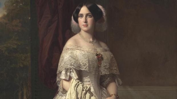 «Josefa del Águila Ceballos, luego marquesa de Espeja», de Federico de Madrazo