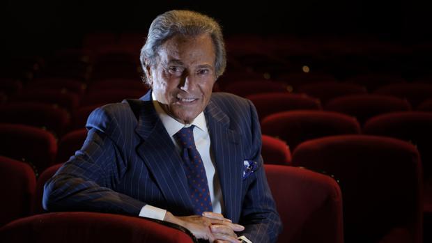 Arturo Fernández posa para ABC
