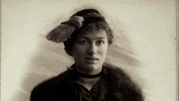 La poeta rusa Edith Södergran (1892-1923)