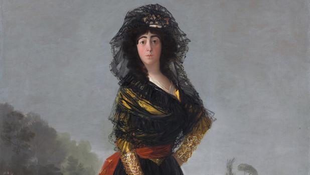 «La Duquesa de Alba de negro» (1797), de Goya