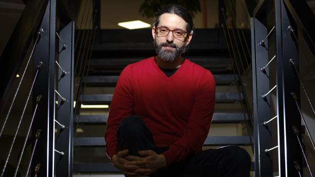 El escritor argentino Andrés Neuman, fotografiado poco antes de la entrevista