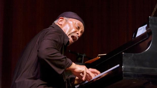 Cecil Taylor, durante una actuación en el Lincoln Center en el año 2002