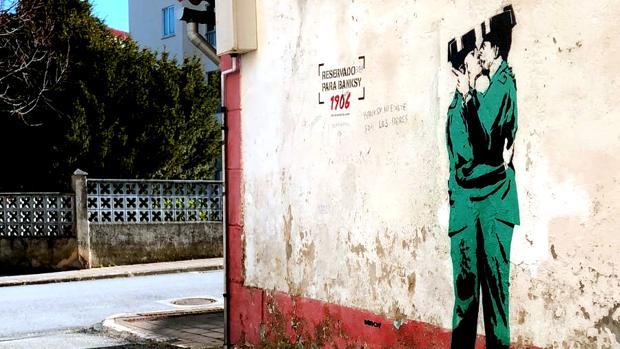 ¿Es esta la primera obra de Banksy en España?