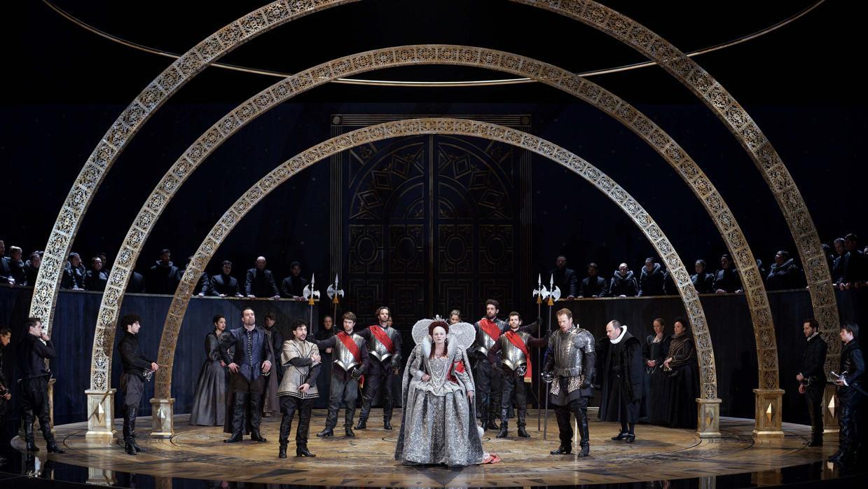 El Teatro Real pone a la venta doscientas entradas para la ópera «Gloriana» a 20 euros