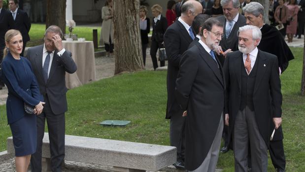 El día que Cristina Cifuentes eclipsó al Cervantes