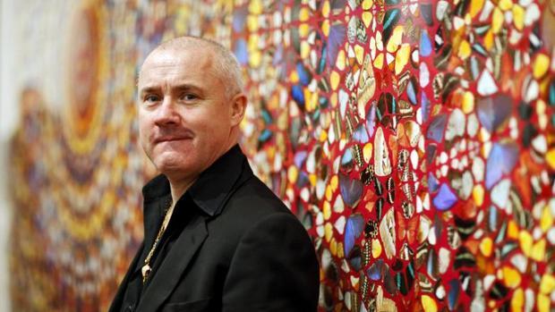 El artista británico Damien Hirst