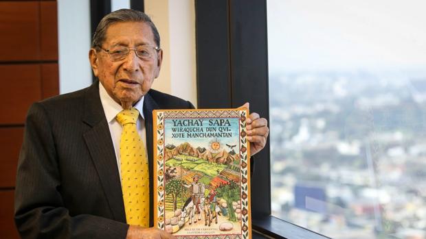 El profesor de lengua quechua y periodista Demetrio Tupac Yupanqui