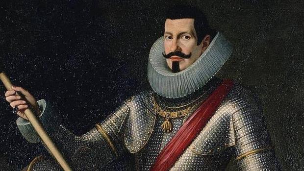 Pedro Téllez-Girón y Velasco, duque de Osuna, retratado por Bartolomé González y Serrano