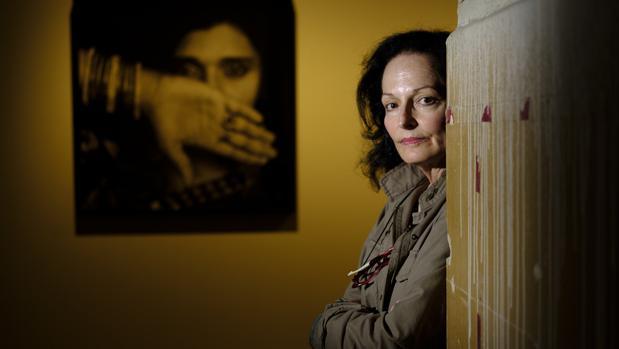 Isabel Muñoz, en la sede de «La antropología de los sentimientos»
