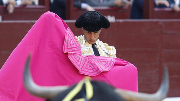 Iván Fandiño, en Las Ventas