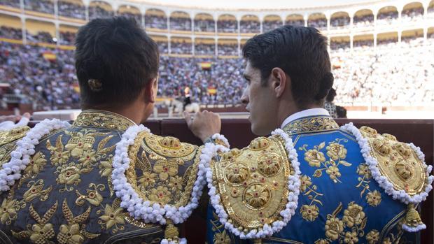 José María Manzanares y Alejandro Talavante, en Las Ventas