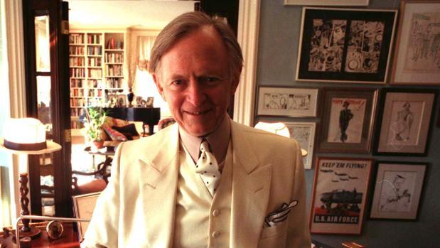 Tom Wolfe, en Nueva York en los años noventa