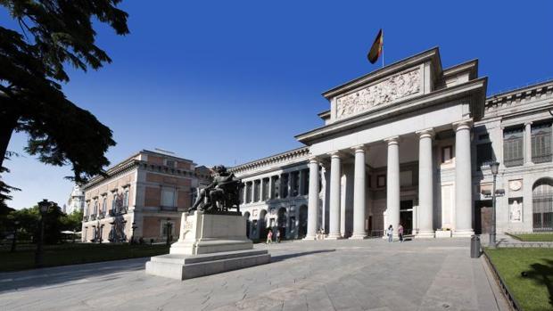 Imagen exterior del Museo del Prado