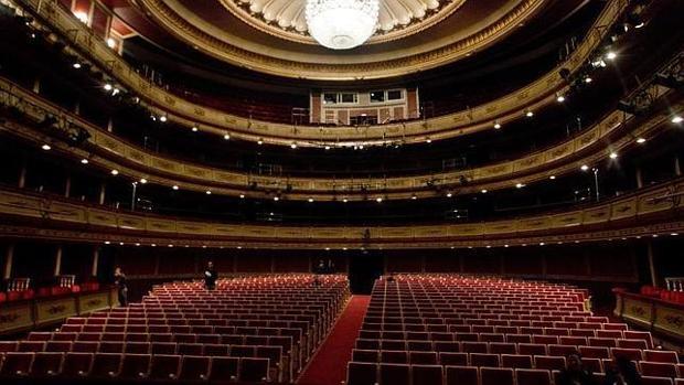 El teatro de la Zarzuela de Madrid