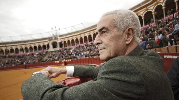 Ramón Via, en la Real Maestranza