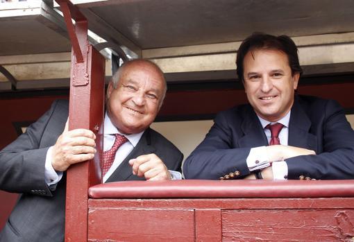 Borja Domecq padre e hijo