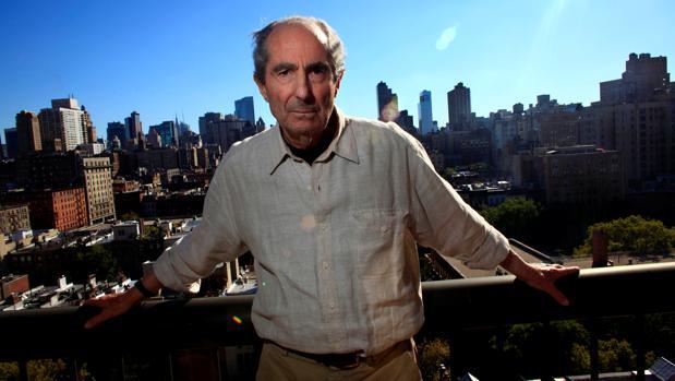 Philip Roth, fotografiado en Nueva York