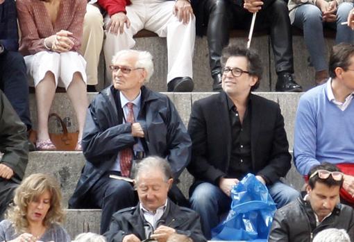 Andrés Amorós y Andrés Calamaro compartieron tendido en el histórico festejo