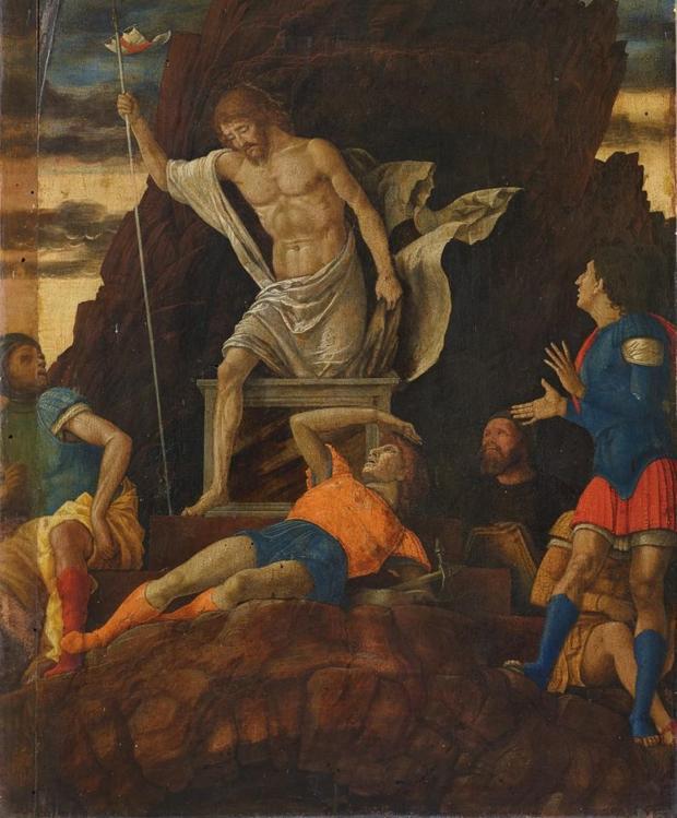 «La resurrección de Cristo», el «nuevo» cuadro de Andrea Mantegna