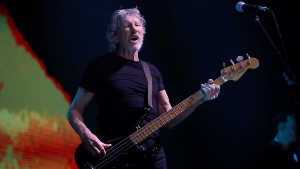 Roger Waters, durante el concierto que ofreció en Madrid