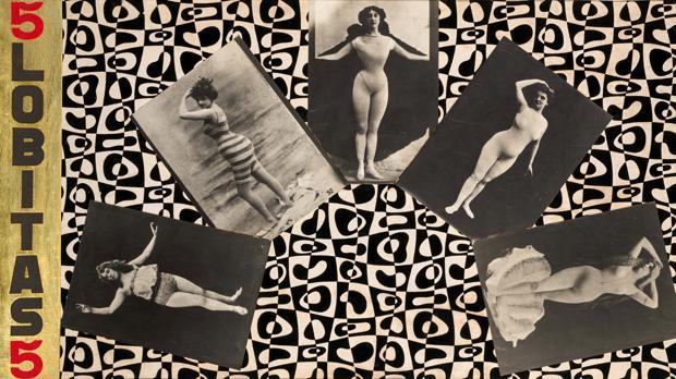 «Sin título (Cinco Lobitas)» (1968), de Jacinta Gil Roncalés