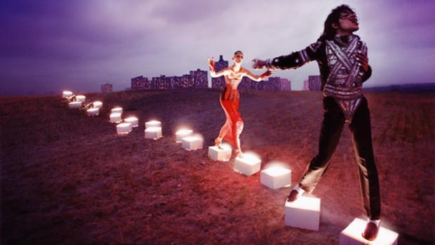 Una fotografía de Michael Jackson por David LaChapelle
