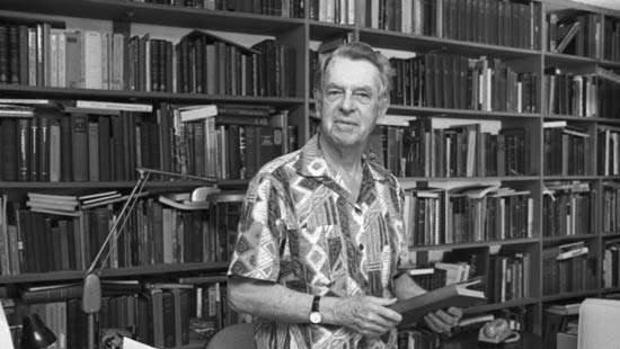 El escritor y profesor norteamericano Joseph Campbel (1904-1987)