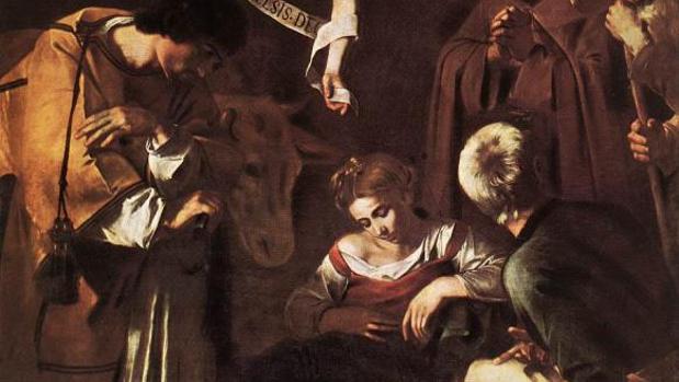 «La Natividad» de Caravaggio