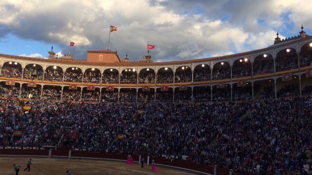 Lleno en tarde de toros esta semana en Las Ventas