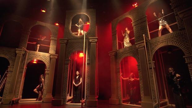 Una imagen del musical «Nine»