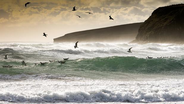 Playa de Dingieshowe, en las islas Orcadas