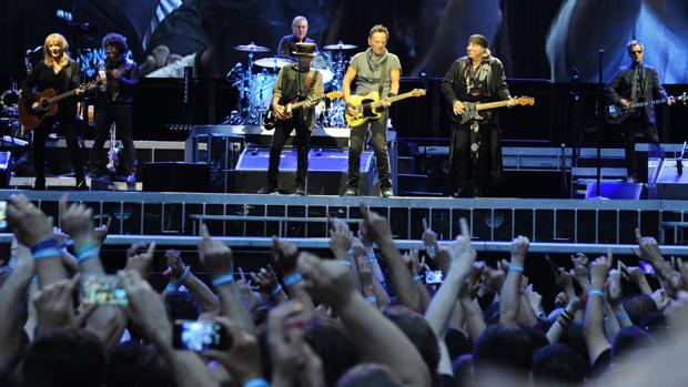 Concierto de Bruce Springsteen en Madrid en 2016, donde volvió a encenderse la polémica de la reventa